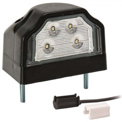LED license plate light | 12-36V | incl. connector 1.5mm2