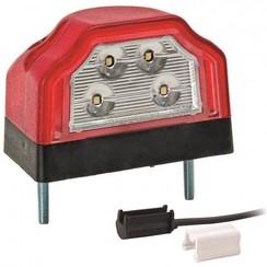 LED-Kennzeichenleuchte | 12-36V | 1,5mm2 Anschluss