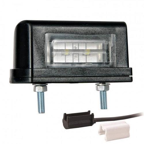 LED kentekenverlichting  | 12-36v | incl. connector 1,5mm2