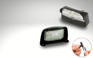 License plate lighting 2-PINs