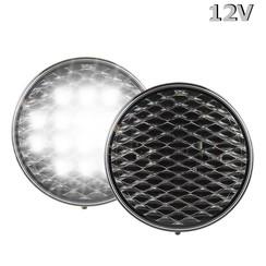 LED Reverse Light 12v clear lens 30cm. cable