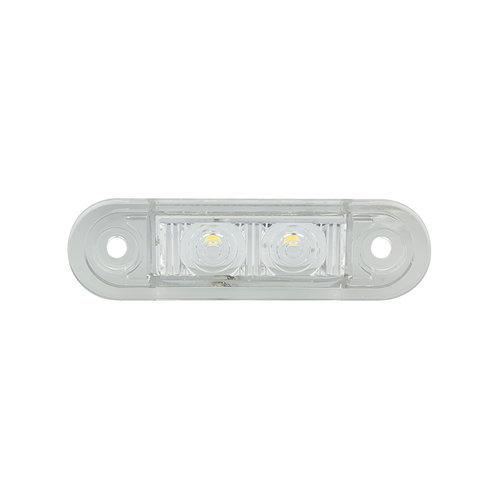 LED decoratielicht |  blauw inbouw  | 12-24v | 20cm. kabel