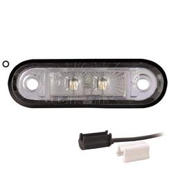 LED Umrissleuchten weiẞ | 12-24V | 1,5mm2 Anschluss