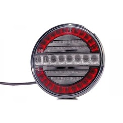 LED mist- en achteruitrijlicht (rond) | 12-24v | 100cm. kabel