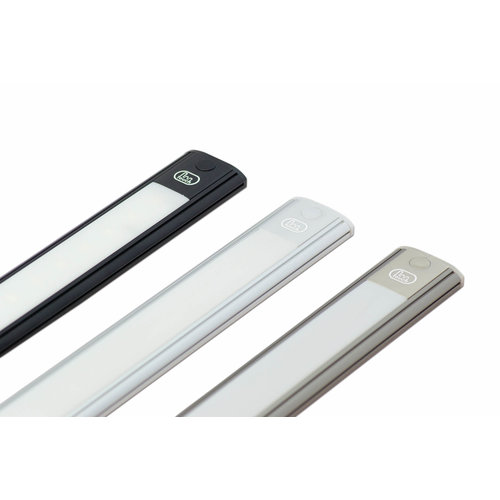 LED Interieurverlichting incl touch zilver 26cm. 24v koud wit