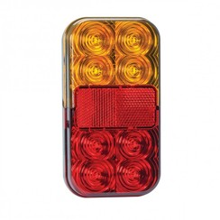 Stop / Achterl. / Reflector / Badge 12v duo pack