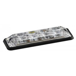 R10 Slimline LED Flash 4 white LEDs 10 - 30V