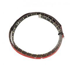 Interior LED flexible strip 114cm. 12V cold white