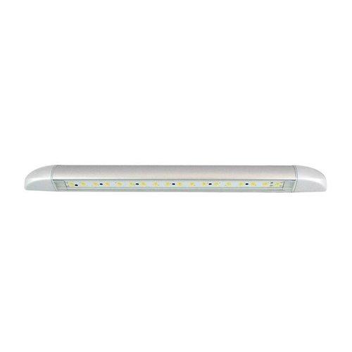 LED Interieurverlichting 26cm. zilver 24v warm wit