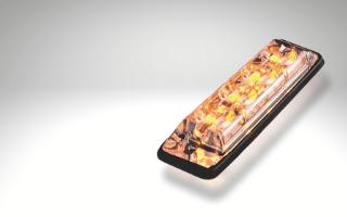 R65 LED directional warning light