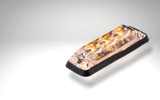 Non R65 LED directional warning light Amber