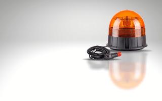 Magnetic base mount amber