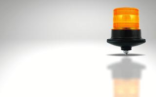 Single bolt mount amber