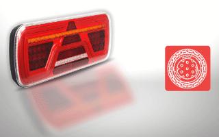 Rear lights 7-PINs AMP