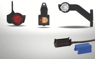 Side marker lights DC connector 0.75mm2