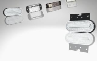 Weiße LED-Frontbegrenzungsleuchten
