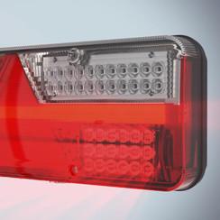 Right panel LED fog light serving King Point