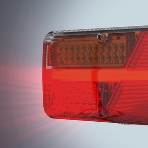 Das Rechtse Feld LED-Bremsleuchte dient König Punkt