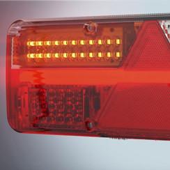 LED panel light flashing serving King Point Left