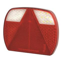 LED slimline rear light without license plate light | 12-24v | 40cm. cable