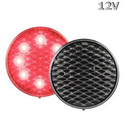 LED Brems- / Rücklicht 12V klare Linse 30cm. Kabel