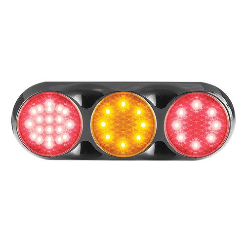Combination LED light   12v   color   30cm. Cable (color + black)