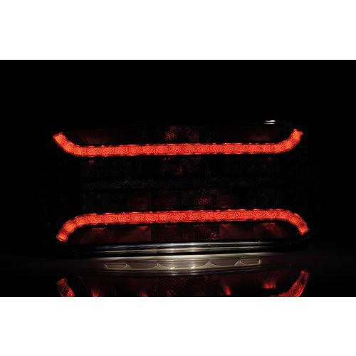 TRALERT® LED Achterlicht (R) met driehoek reflector & kent. | 12-24v |