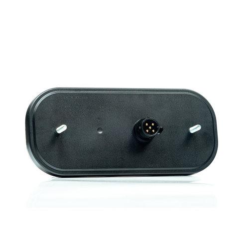 LED achterlicht met dynamisch knipperlicht  | 12-24v | 5 PIN