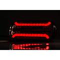 LED achterlicht met dynamisch knipperlicht & kentekenverlichting    12-24v   5PIN