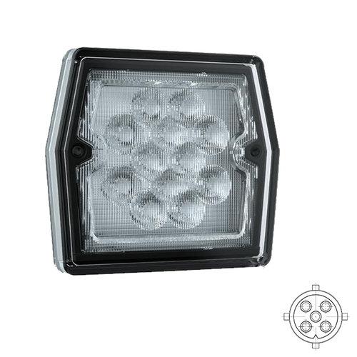 LED Compact achteruitrijlicht  12v 5 PIN's bajonet