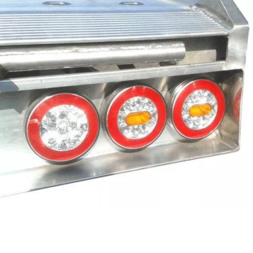 LED achterlicht Y-homologatie zonder kentekenverlichting  | 12-36v | 5 pin