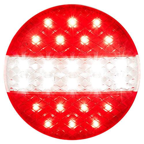 LED achteruitrijlicht met rem/achterlicht  | 12-24v | 40cm. kabel