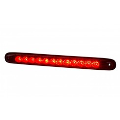 LED brake / rear light slimline | 12-24v | 100cm. cable