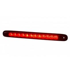 LED rem/achterlicht slimline | 12-24v | 100cm. kabel