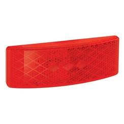 LED markeringslicht rood | 12-24v |  35cm. kabel