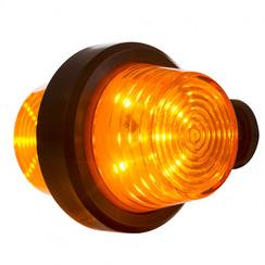 LED-Pendelleuchte Bernstein, kurzer Stiel und klare Linse, | 12-24V |