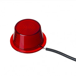 LED replacement module matt red
