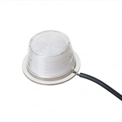 LED replacement module matt white