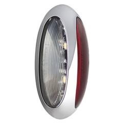 LED breedtelamp, | 12-24v | 30cm. kabel