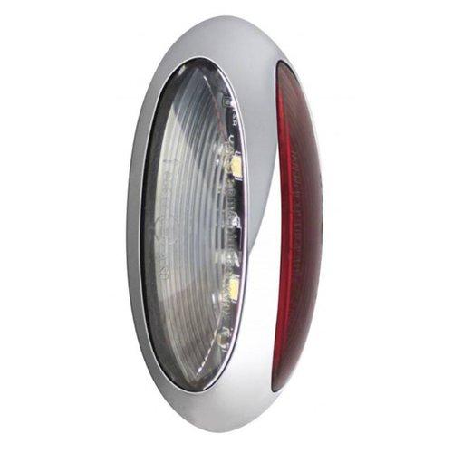 LED breedtelamp,   12-24v   30cm. kabel