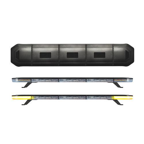 LED zwaailampbalk R65   1103mm   10-30v   compleet flitsend