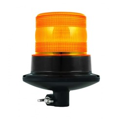 R10 LED Flash / beacon | 10-30V | PC DIN-mount base