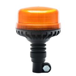 LED flashing light R65 low base, flexible DIN mount base   12-24v  