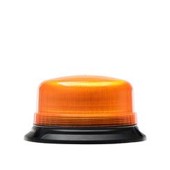 LED flashing light R65 low base, three bolt mounting   12-24v  
