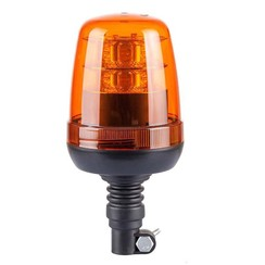 LED Beacon Amber R65 with Flexi DIN mounting feet | 12-24v |