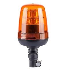 LED-Leuchte Gelb R65 mit Flexi DIN Montagefüẞe | 12-24V |