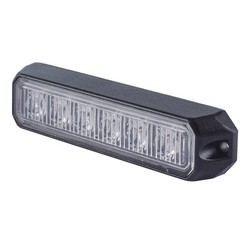 LED Flash version 6 LED Amber | 12-24v |