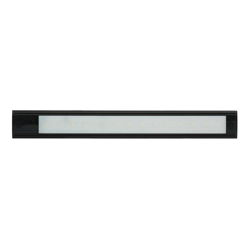 LED Interieurverlichting | excl. touch | zwart 31cm. 12v koud wit
