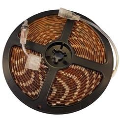 LED Interieurverlichting flexibele strip 5m. 24v, koud wit