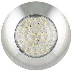 LED Innenraumleuchte Chrom 12v. kaltes weiẞes Licht